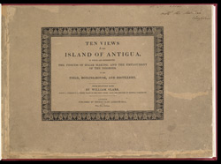 Ten Views in the Island of Antigua -Title page